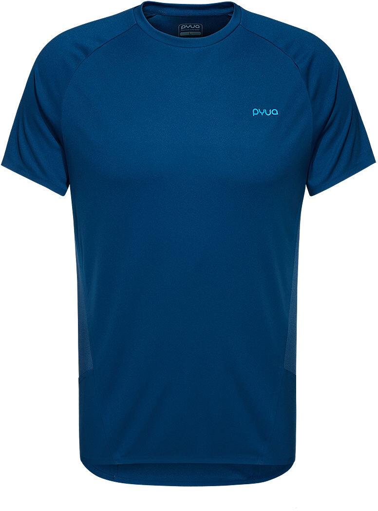 PYUA Deft Y S T shirt Herrer, poseidon blue